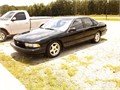1996 CHEVROLET IMPALA SS BLACK 130000 MILES AS NEW no modifications always garaged one owner