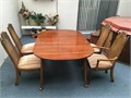 Dinning table with 4 Chairs adn TV stand table is excellent condition I never used muchDinning t