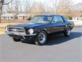 1967 Mustang S code 390 4 speed BlackBlack coupe Fresh RestorationVin 7F01S169668NOT FOR THE F