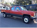 1986 Chevy Chevrolet Quad cab 4x4 1Ton It runs and drives great with the original 454 engine With
