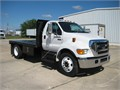 2005 F650 FLATBED WITH CUMMINGS ENGINE AND ALLISON Trans like new only 67000 milesfully loaded