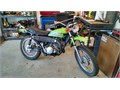 This is a sweet collectable rare 1971 Suzuki TS250R it had both street and trail sprockets with ch