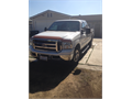 2005 Ford F250 Used 104521 miles Private Party Truck White Good cond Auto 2WD 4 Doors 1FTS
