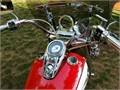 Selling custom Harley Davidson motorcycle Stunning and flashy red and white Prettiest bike in town