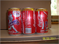 1991 Braves Coke Cans Have a full 6 pack of 1991 Atlanta Braves National League Champion Coke cans