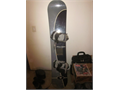 Vision 162cm twin tip snowboard with VR ratchet bindings stomp pad leash ABSOLUTELY IN MINT CONDI