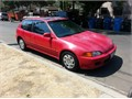 1994 Honda civic Si all original Recent tune-up engine and transmission oil change run excellent