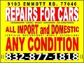 AC  Engine  Transmission  Suspension  Electrical  Certified Diagnostics and Car Care Center for