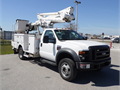 423 Ft Bucket Truck with Material HandlerWorking Height 423Unit Mount Location Behind Cab