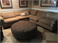 Custom made sofa double slip covers extra-large measures 122 from corner to corner to pieces comes w