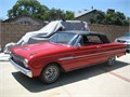 63 classic convertible good cond runs good six cyl automatic red ext white rolled interior Price