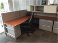 Herman Miller Vivo cubicles workstations at the size of 6x7x46Hx57HEach station has pedestal