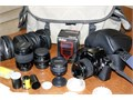 Canon EOS Rebel Camera 15000 camaromancoxnet  Comes with 3 lenses flash carrying case filter