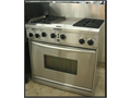KitchenAid stainless steel 36 in duel fuel range comes with warranty delivery is available 6650 van