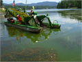 Want to get rid of those noxious aquatic weeds at your waterfront We offer a me
