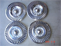 1957 Ford Thunderbird 4 original matching hubcaps - excellent condition 10000 805-624-7113