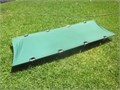 GRIZZLY EXTRA LARGE COT Aluminum frame 82 x 32 x 7H  GREAT CONDITION heavy canvas material  b