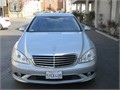 2007 Silver Mercedes Benz S550 for sale Well maintained vehicle with aluminum rims CD changer rad