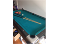 POOL Table  Great Christmas Gift  In perfect condition  Our kids only played maybe 2 dozen games