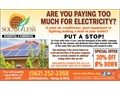 Go solar w Solar 4 Less Inc 0 Down EZ financing for everyone bad credit is not an issue Elimin