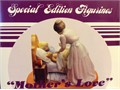 Norman Rockwell figurine and plate mothers love still in the box 4000 562-310-0585