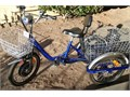Good Looking in New Condition Electric Tricycle Front and Rear Baskets Plenty of Room for Shopping