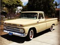 1965 C10 Longbed Chevy for sale In Carpinteria California  3 speed manual transmission  Custo
