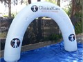 Inflatable Arches  Tunnels are a great way to advertise your brand name in race or marathon They a