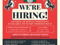 Houdini Inc is Hiring for Seasonal Positions Were hiring for several different seasonal positio