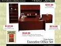 Best value Executive U-Shape Desk with drawers Available in 2 colors and fast delivery