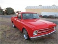 1968 chevy truck C10 shortbed big block factory AC resto-mod hotrod  800 miles since frame of
