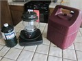 Coleman 2 mantle propane lantern with Coleman Plastic Case new mantles comes with a full 1 lb bot