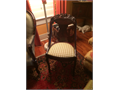 furniture for sale victorian love seat and chair also  wooden chair also red camelback sofa all perf