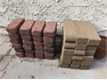 24 standard bricks 18 curved-edge bricks 12 x 3 14 x 2 14 as pictured  1 each