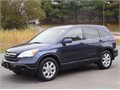 2007 Blue Honda CR-V 24L Special Edition 56800 miles One owner all services up to date and done