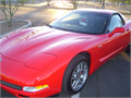 This senior owned Corvette from a local retirement community has a clear title and less than 40k mil