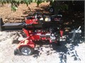 LOG SPLITTER27 ton Subaru engine Less that 1 cord through it Like new