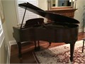 1915 Hallet  Davis 52 baby grand piano Same owner since 1980 well maintained piano used in priv