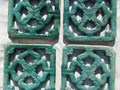 Chinese Ventilator Tiles 4 each  All in excellent Conditions