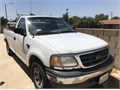 2001 Ford F150 BlackChrome CNG 54L V8 Truck Some dents or Scratches Interior Seat Needs Repair