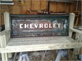 chevrolet tail gate bench--500-made with treated lumber-------home814447-3920cell814506-4