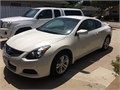 2012 Nissan Altima coupe 40000 miles1 owner Private Party no dealership no hassle Pearl exterio