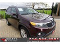 2011 Kia sorento ex Used 75323 miles Dealer SUV 6 Cyl Burgundy Black Excellent cond Auto 2