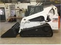 2007 Bobcat T 300Clean hardly used-low hours has quick disconnect 4-1 bucket  backhoe attachment