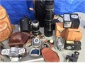 Note picture of various camera and accessories Good Shape 30000 or make an offer