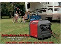 Ultra quiet Honda inverter Generators model EU3000is - Call for more information Lomita Mower  Sa