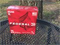 Shotgun ammunition 12 gauge Federal brand 1 18 oz No 7 shot 2 34 in shells 1200 FPS 110