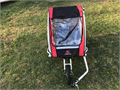 bike trailer stroller good condition red 5000 5000 706-294-0391