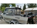 2003 Hewes Craft 20ft 135 main Optimax Saltwater 390hrs 99 Bigfoot kicker mot