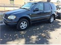 1999 Mercedes Benz ML 320 License 7KGK659 Dark Blue Color just pass smoke check new Tab straigh